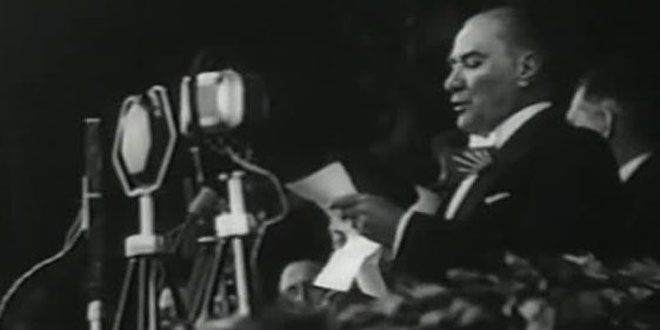 ATATÜRK'S SPEECH ON THE 10TH ANNIVERSARY OF THE REPUBLIC