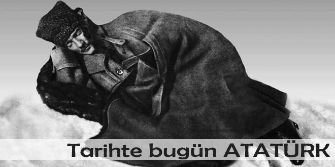 Tarihte bugün Atatürk