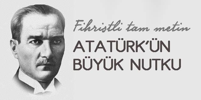 Atatürkün büyük nutku
