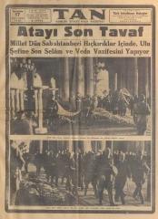 17_Kasım_1938_Tan_Gazetesi