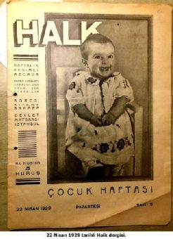 23 Nisan 1929 halk dergisi