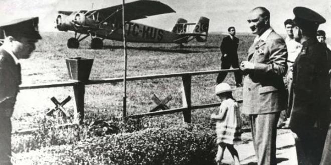 Atatürk'ün havacılık hakkında konuşması