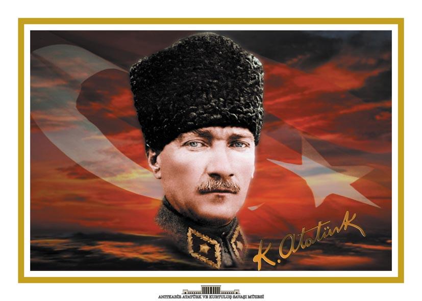 Atatürk posterleri, yatay 70x100