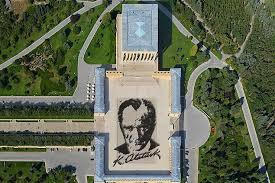 Anıtkabir Barış Parkı ve anıt bloğu