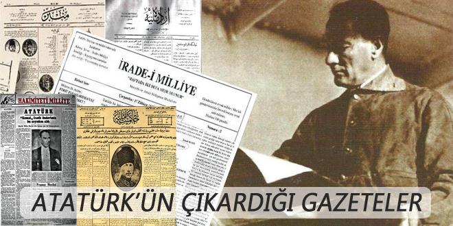 Atatürk'ün çıkardığı gazeteler