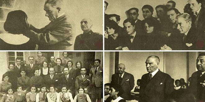 Atatürk zamanı lise eğitim seviyesi