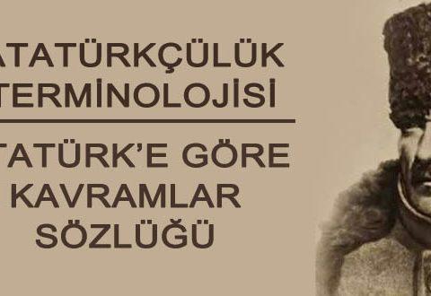 Atatürkçülük terminolojisi - Atatürk sözlüğü