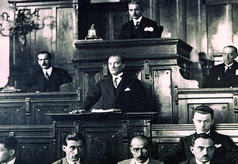 Atatürk'ün hayatı ve eserleri tarih şeridi