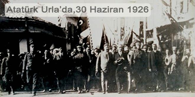 Atatürk'ün Urla ziyaretleri