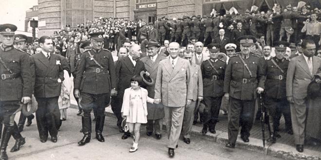 Atatürk'ün Erzurum Kongresi'ni Kaparken söylevi