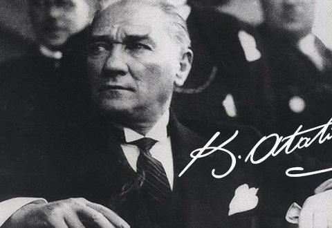 Mustafa Kemal Atatürk'ün imzasının hikayesi