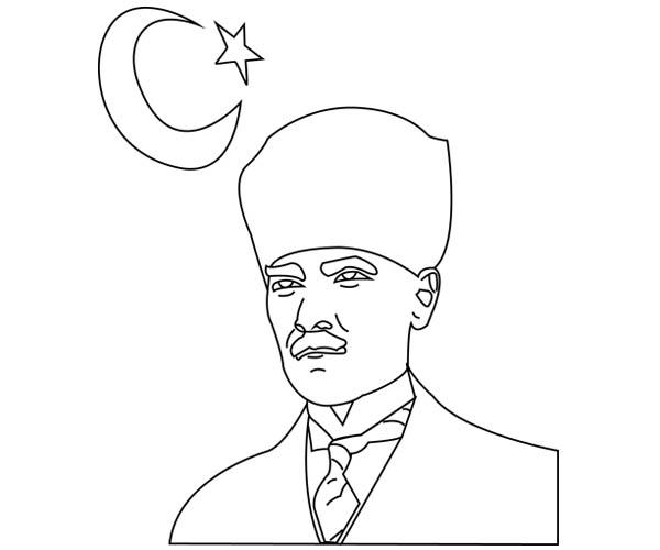 Atatürk boyama resimleri