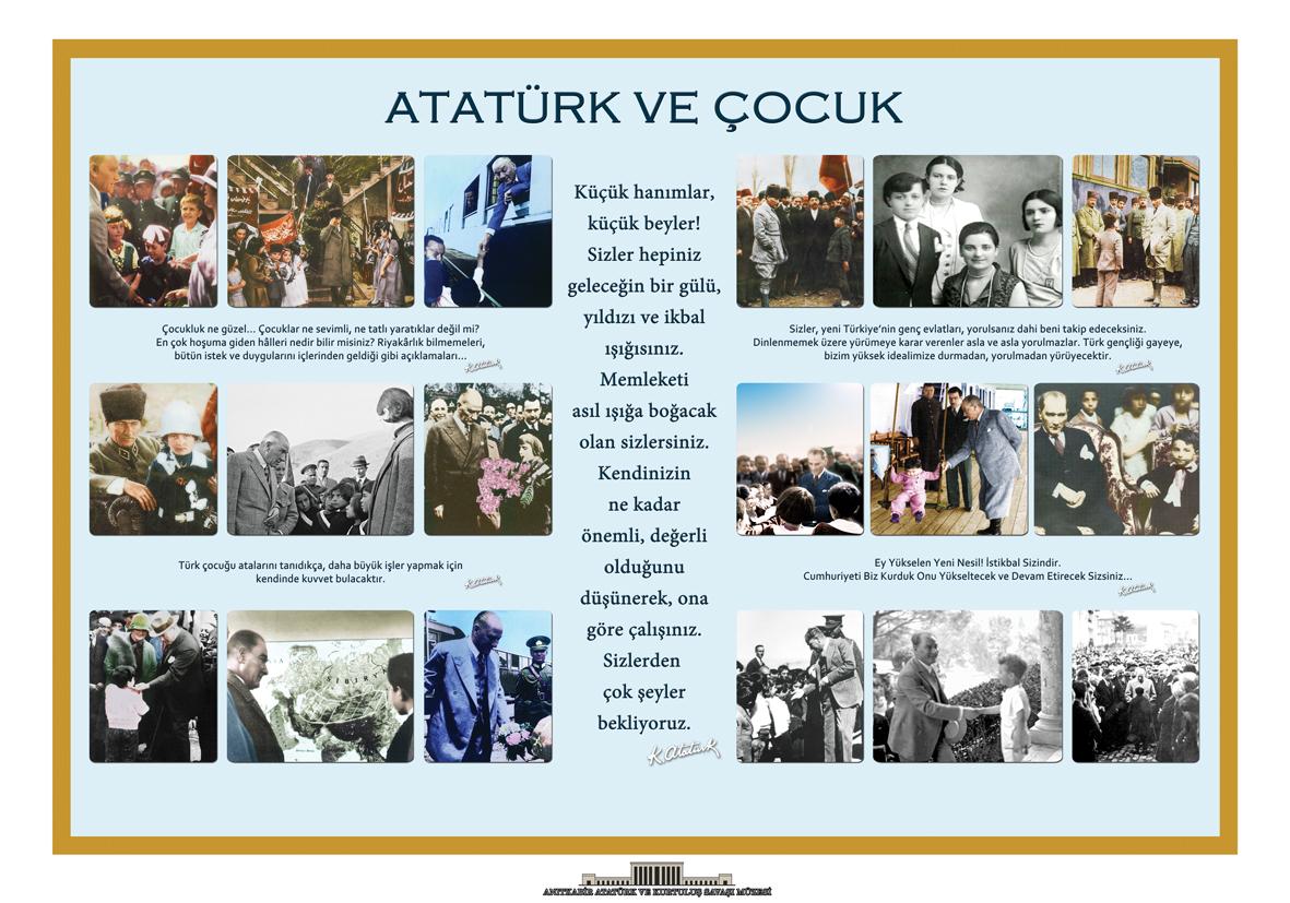 Atatürk posterleri yatay, 70x100