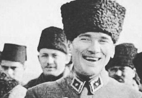 Bütün yanlışlarımızın doğrusu Mustafa Kemal Atatürk'tür