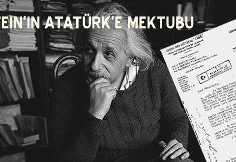 Einstein'ın Atatürk'e mektubu