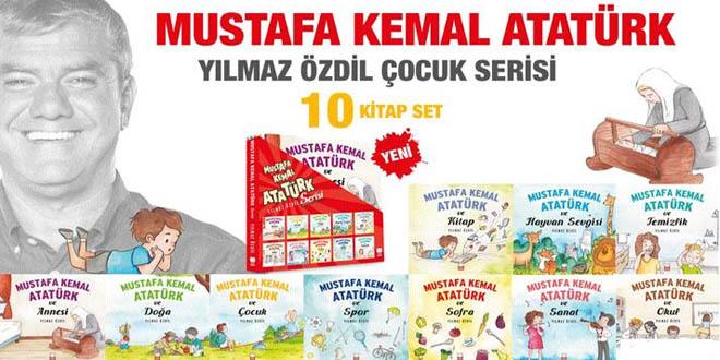 Yılmaz Özdil'in Mustafa Kemal Atatürk 'Çocuk serisi' kitapları
